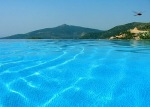 Infinity Pool at Mediteran Apartments- Kalkan Turkey
