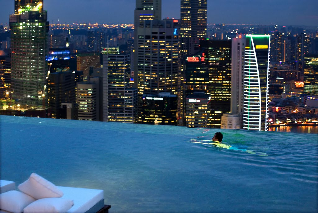 The Infinity Pool At The Marina Bay Sands Skypark Singapore Coolest Infinity Pools Around The