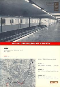 Milan Metro - 1959 - 64 (1)